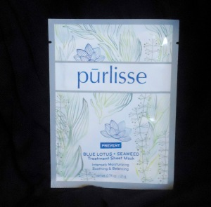 Photo of Purlisse Blue Lotus + Seaweed Treatment Sheet Mask