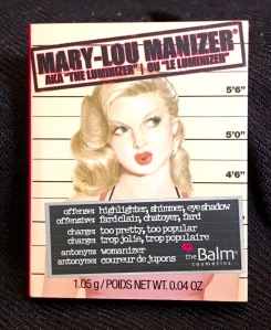 Photo of theBalm Cosmetics Mary-Lou Manizer Highlighter, Shadow & Shimmer