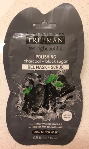 Photo of Polishing Charcoal + Black Sugar Gel Mask + Scrub from Freeman Beauty