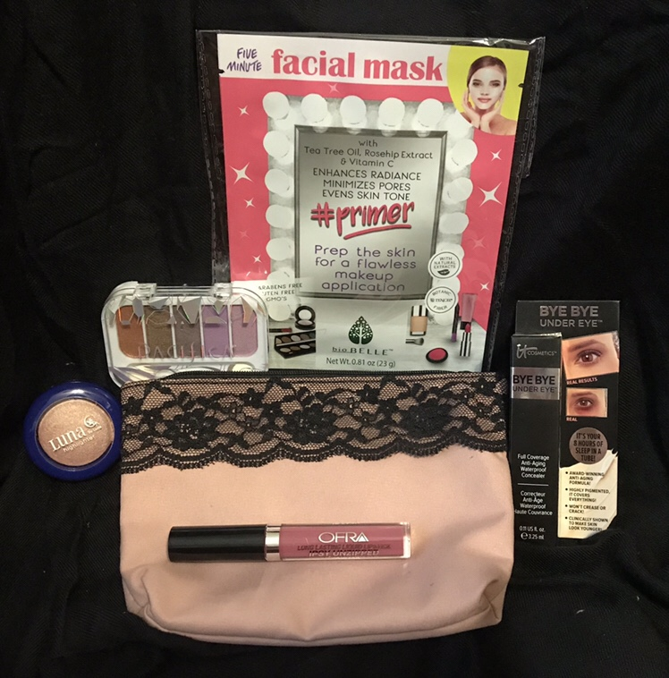 Photo of my February Glam Bag