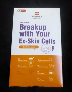 Photo of Daily Wonders Breakup with Your Ex-Skin Cells Exfoliating Sheet Mask from Leaders Cosmetics