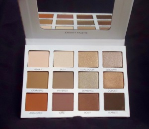 Photo of the Identity Eyeshadow Palette from Persona Cosmetics