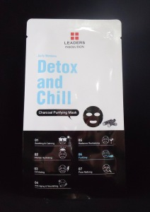 Photo of Detox and Chill Charcoal Purifying Mask from Leaders Cosmetics USA