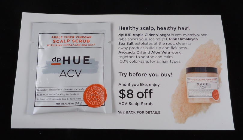Photo of Apple Cider Vinegar Scalp Scrub sample from dpHUE