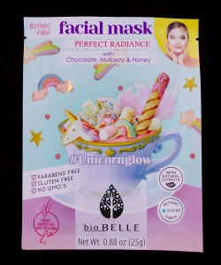 Photo of #Unicornglow Perfect Radiance Sheet Mask from Biobelle Cosmetics