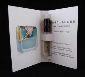 Photo of Marc Jacobs Decadence Eau de Toilette sample