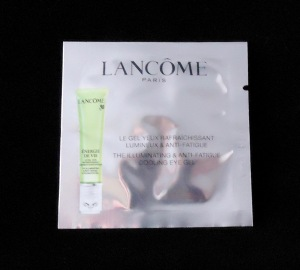Photo of Illuminating & Anti-Fatigue Cooling Eye Gel sample from Lancome