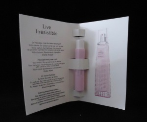 Photo of Live Irresistible Blossom Crush Eau de Toilette sample from Givenchy