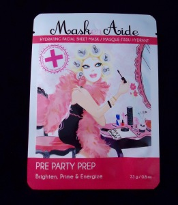 Photo of Pre Party Prep Hydrating Facial Sheet Mask from MaskerAide