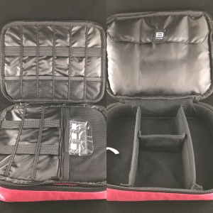 Photo of Glendale 2-Layer Organizer in Heather Coral from Bagsmart