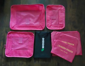 Photo of 7 Piece Packing Cube Set with Shoe Bag from Mossio Travel