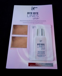 Photo of sample Bye Bye Lines Serum from IT Cosmetics