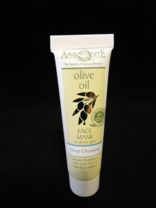 Photo of sample size Olive Oil Deep Cleansing Face Mask from Aphrodite