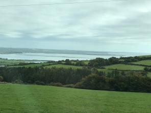 One of the gorgeous views on our drive to Blarney