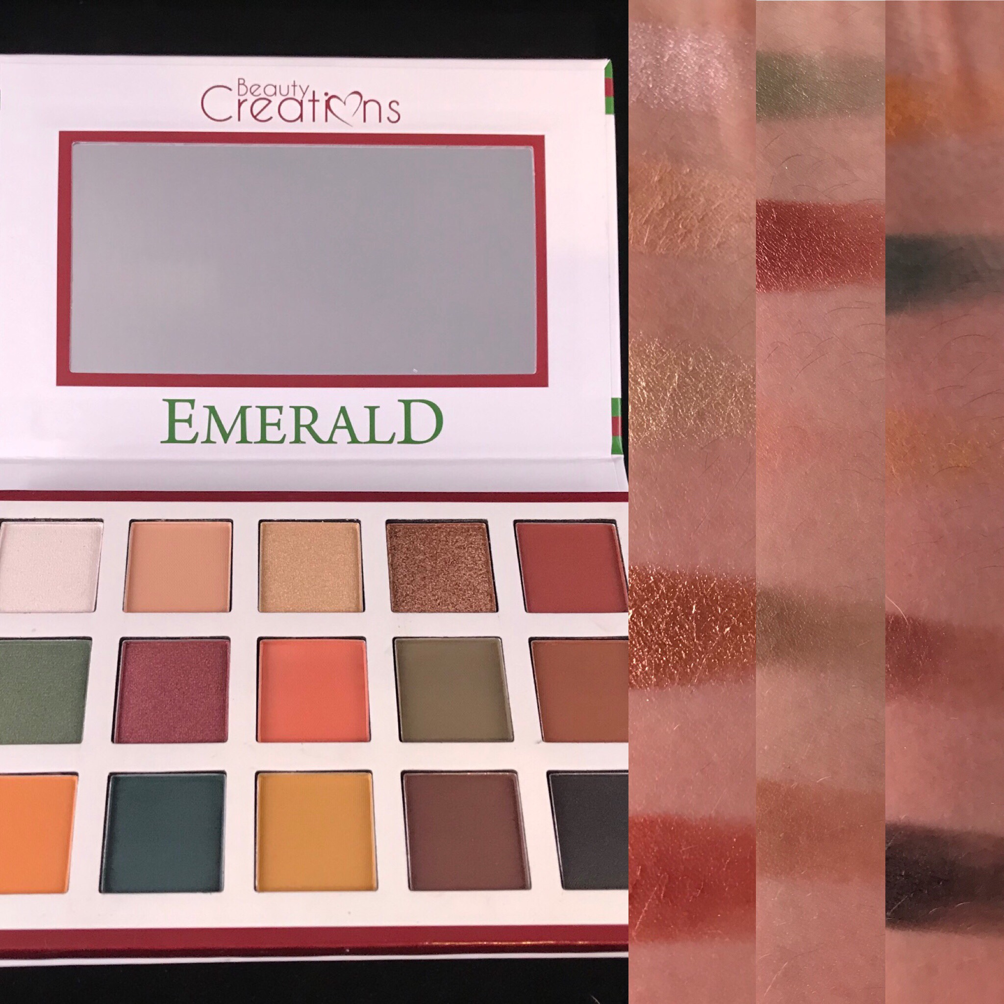 Photo of Emerald Palette from Beauty Creations