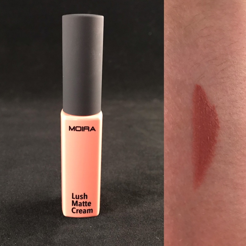 "Photo of Lush Matte Cream Liquid Lipstick in ""Butter Cake"" from Moira Beauty"