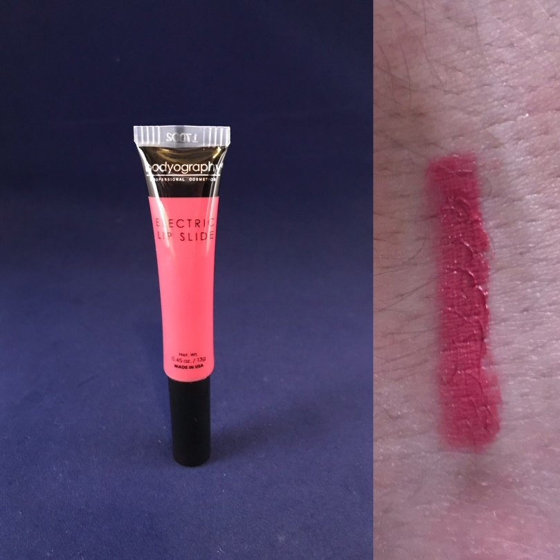 """Photo of Electric Lip Slide in """"Passion Sorbet"""" from Bodyography"""