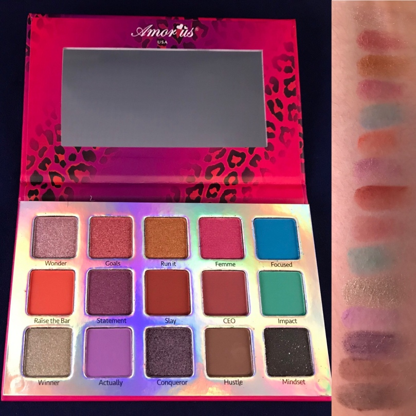 Photo of Lady Boss Eyeshadow Palette from Amor Us USA